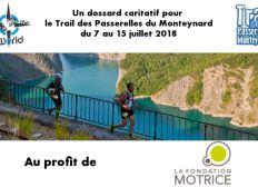 Dossard Trail des Passerelles du Monteynard à 10 €