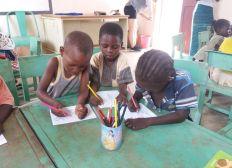 Une école primaire pour les enfants de Niou, Burkina Faso