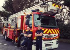 Pompier-Oise-Aventure 4L Trophy 2019
