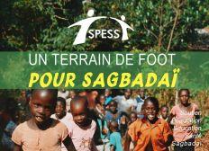 Un terrain de foot pour Sagbadaï