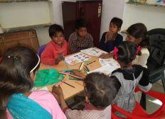 Enfants des bidonvilles - SHRESTHA