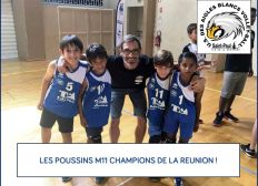 Les M11 Champions de Volley de La Réunion à l'assaut du Tournoi International d'Hyères !