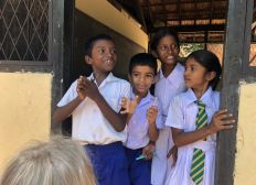 Électricité à l'Ecole de Mirissa au Sri Lanka