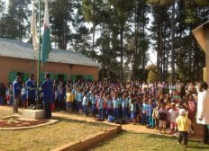 De l'eau potable pour le village de la joie à Madagacar