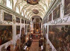 Renovierung der Stiftskirche St. Peter in Salzburg
