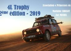 4L TROPHY - Association Princesses en Bolide