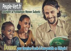 Le Peuple Vert supporte la Fondation Neven Subotic