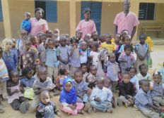 Soutien à l'école maternelle de Tenkodogo