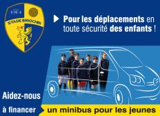 Stade Briochin : Un minibus sur la route de la réussite sportive