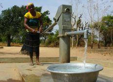 Création d'un puits avec forage à Abang-fum village CAMEROUN