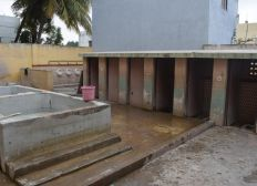 Construction of new toilets and bathing rooms for Anbu Illam