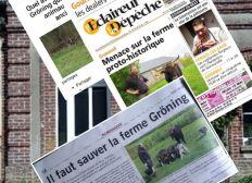 Sauver la Ferme Gröning et sa centaine d'animaux proto-historiques