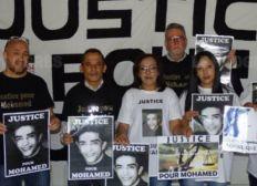 Solidarité au collectif  Justice pour Mohamed
