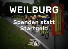 Spenden statt Startgeld - 3-Etappenrennen Weilburg