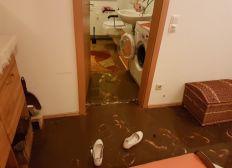 Überflutung Wohnung