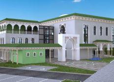 Construction de la nouvelle mosquee du Blanc Mesnil