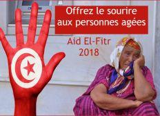 AID 2018 - Cadeaux et Habits pour les personnes âgées en Tunisie