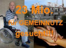 23 Millionen Euro für ein gemeinnütziges Pflegeheim gesucht