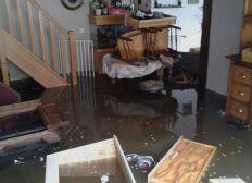 Inondation catastrophique