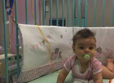 Chloé 8 mois, son combat contre le cancer