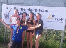 Deutsche Beachvolleyballmeisterschaft U15 weiblich für den VC Freudental