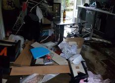 Un peu d'aide pour une famille qui a tout perdu à cause des inondations