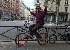 Un vélo électrique pour Sebba