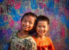 Venir en aide aux sourires cambodgiens