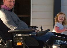 Un véhicule adapté pour William et sa famille