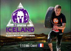 Etienne Chave aux Championnats du Monde ULTRA SPARTAN RACE (Islande - 08/12/2018)