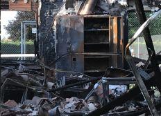 TOUS SOLIDAIRES avec US GONTAUD FOOT suite à l'incendie accidentel de son club house