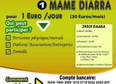 Parrainer 1 Mame Diarra avec 1€ par jour