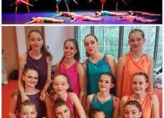 Concours européen de danse au Luxembourg en novembre 2018