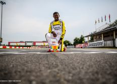 Craig, le martiniquais en karting international & double champion de France