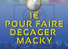 1€ pour faire dégager Macky Sall