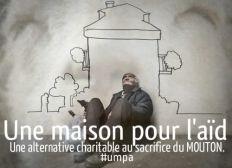 Une maison pour l'aïd, une alternative charitable au sacrifice du mouton