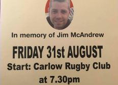 In Memory of Jim Mcandrew The Kevin Bell Foundation