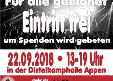 "Zumba fitness Charity für ""Appen musiziert"""