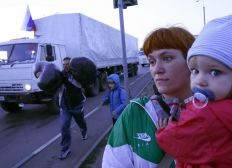 Ukrainian Family from Donetsk need to escape from warzone !