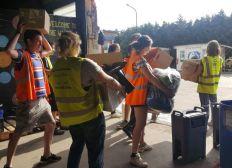 Tentes/ sacs de couchage pour les personnes exilées de Calais