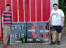 Frankfurt Eagles & Äpplers Scoreboard