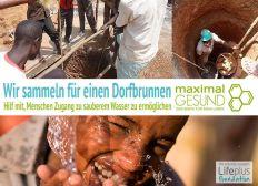 Wasser und Dorfbrunnenprojekt für Kinder Afrikas