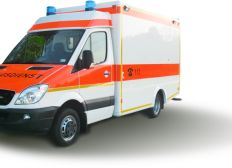 Ein Rettungswagen für den Sanitätsdienst