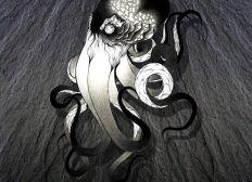 L'encre de poulpe tatoueuse