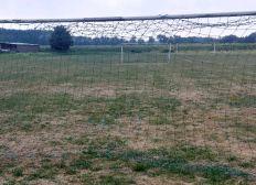 Ersetzung der instabilen Tore am Sportplatz