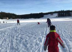 Classe de neige pour une école rurale du Nord