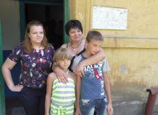 Un toit pour la famille d'Olya au Donbass