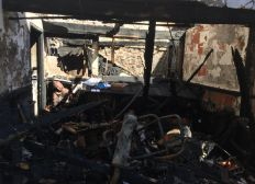 Incendie maison de Damien en Ariege