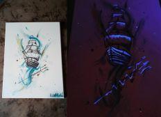 Materialkosten Acrylmalerei