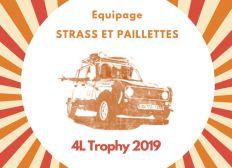 Strass et Paillettes / Clémentine & Morgane - 4L Trophy 2019